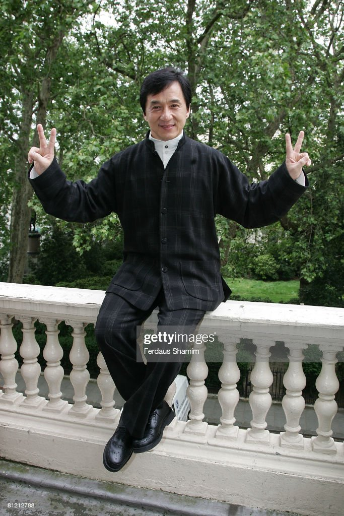 Jackie Chan - Press Conference : News Photo