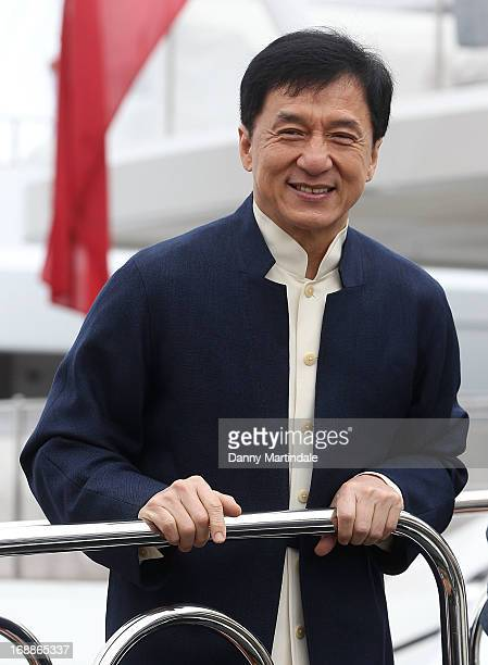 Jackie Chan attends the photocall for 'Skiptrace' at The 66th Annual Cannes Film Festival on May 16 2013 in Cannes France