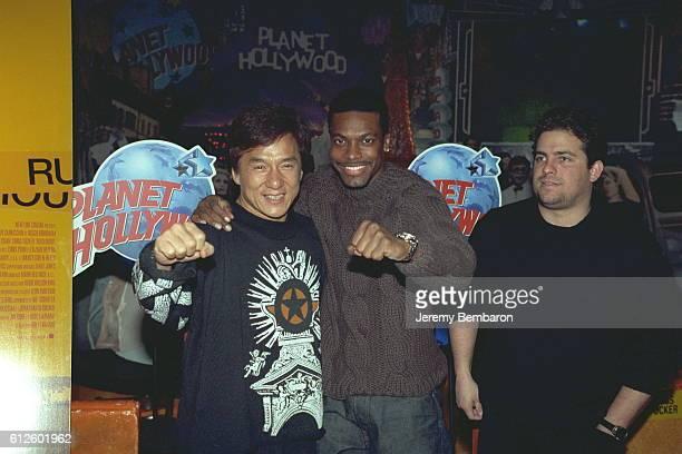 Jackie Chan Chris Tucker and director Brett Ratner