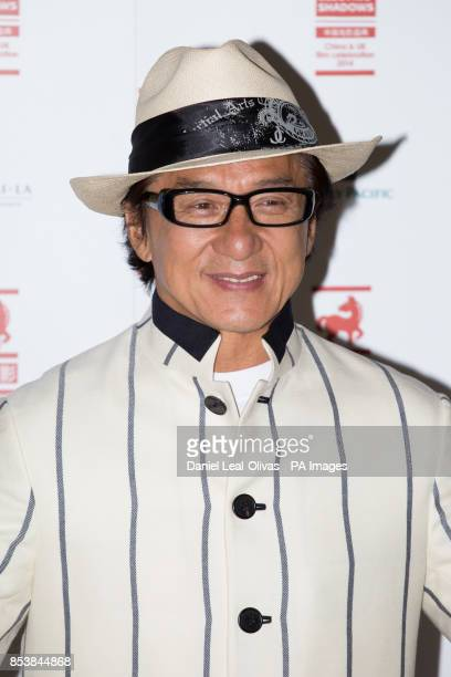 Jackie Chan greets the press at BFI Southbank for a special screening of his film Chinese Zodiac and career QA as part of the BFI's A Century of...