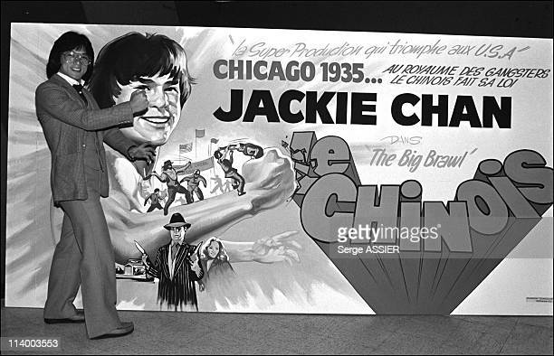 Jackie Chan in Marseille In Marseille France In March 1981