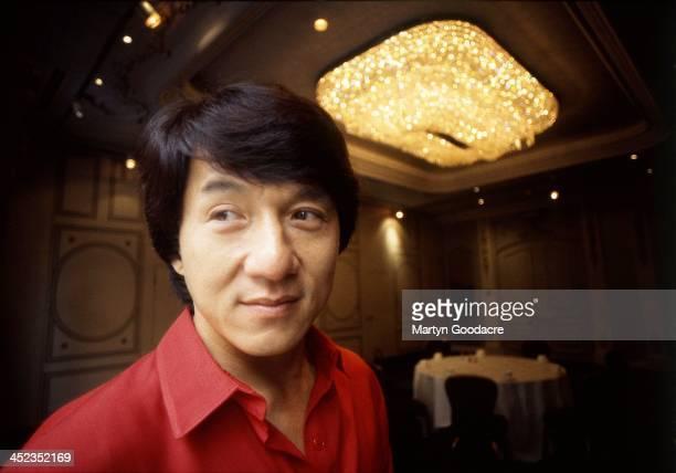 Jackie Chan portrait London United Kingdom 1996