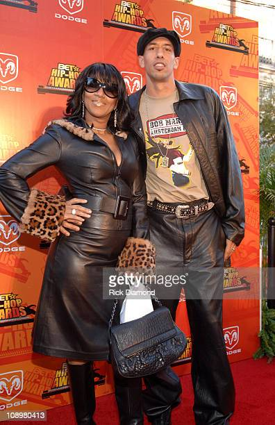 Jackie Christie and Doug Christie during 2006 BET HipHop Awards Red Carpet at Fox Theatre in Atlanta Georgia United States