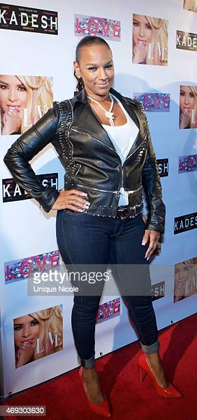 Jackie Christie attends the Private Listening Party For Kadesh aka Desiree Coleman Jackson Hosted By ESPN Sports Analyst Mark Jackson at HOME on...