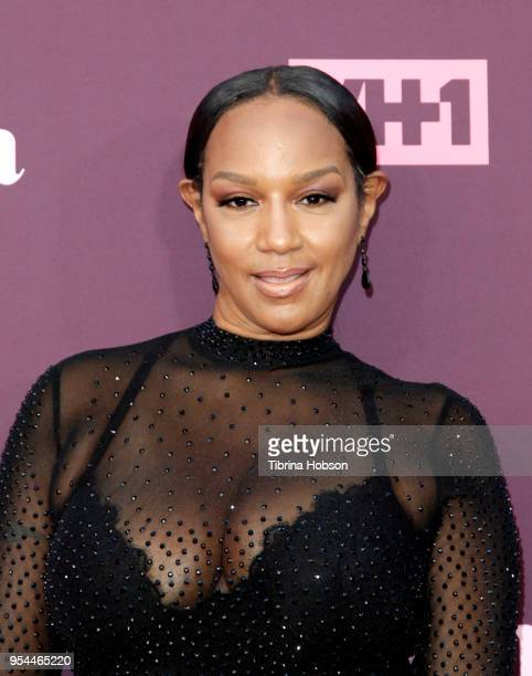 Jackie Christie attends VH1's 3rd annual 'Dear Mama A Love Letter To Moms' screening at The Theatre at Ace Hotel on May 3 2018 in Los Angeles...