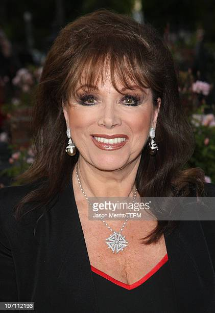 Jackie Collins arrives to the champagne launch of BritWeek at the Consul General's Official Residence in Los Angeles, California, on April 24, 2008.
