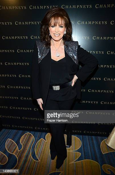 Jackie Collins attends BritWeek An Evening With Piers Morgan In Conversation With Jackie Collins benefiting Children's Hospital Los Angeles at the...