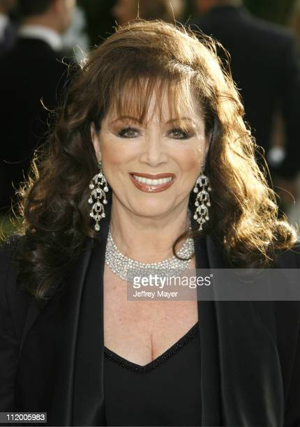 Jackie Collins during 2007 Vanity Fair Oscar Party Hosted by Graydon Carter Arrivals at Mortons in West Hollywood California United States