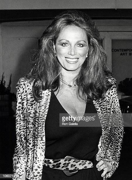 Jackie Collins during Jackie Collins' Hollywood Wives Book Party August 5 1983 at Ma Maison Restaurant in Beverly Hills California United States