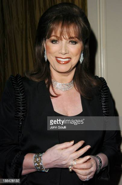 Jackie Collins during The Larry King Cardiac Foundation Gala at The Regent Beverly Wilshire Hotel in Beverly Hills, California, United States.