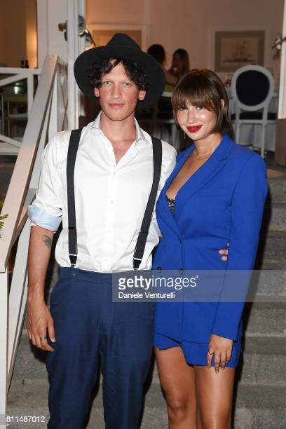 Jackie Cruz and Fernando Garcia attend 2017 Ischia Global Film Music Fest on July 9 2017 in Ischia Italy