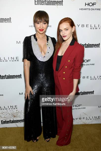 Jackie Cruz and Madeline Brewer attend Entertainment Weekly's Screen Actors Guild Award Nominees Celebration sponsored by Maybelline New York at...