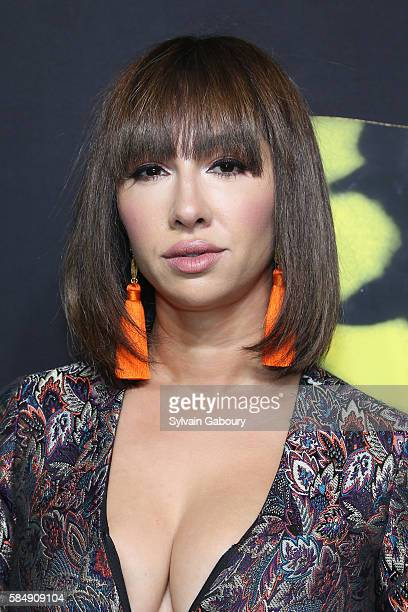"""Jackie Cruz attends Andrew Lloyd Webber's Iconic Musical """"CATS"""" Opening Night at Neil Simon Theatre on July 31, 2016 in New York City."""