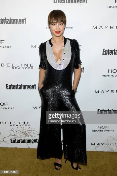 Jackie Cruz attends Entertainment Weekly's Screen Actors Guild Award Nominees Celebration sponsored by Maybelline New York at Chateau Marmont on...