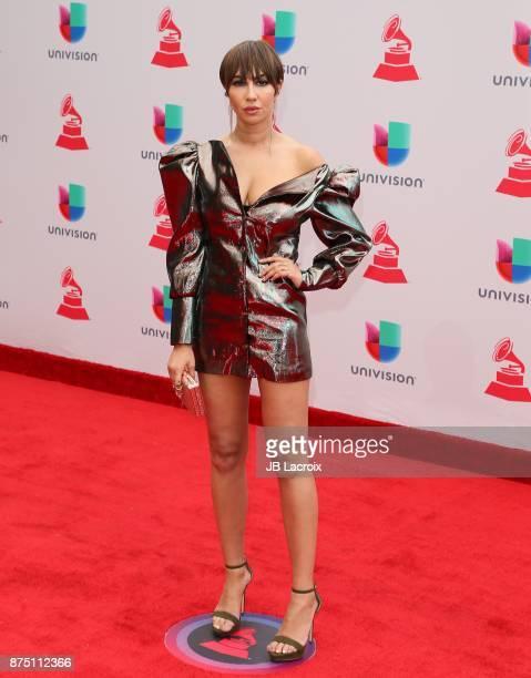 Jackie Cruz attends the 18th Annual Latin Grammy Awards on November 16 2017 in Las Vegas Nevada