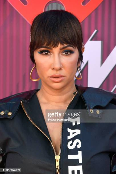 Jackie Cruz attends the 2019 iHeartRadio Music Awards which broadcasted live on FOX at Microsoft Theater on March 14, 2019 in Los Angeles, California.