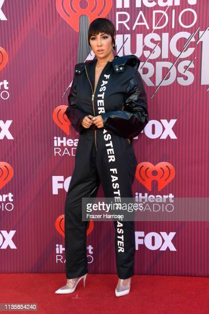 Jackie Cruz attends the 2019 iHeartRadio Music Awards which broadcasted live on FOX at Microsoft Theater on March 14 2019 in Los Angeles California
