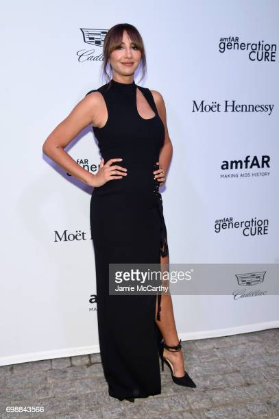 Jackie Cruz attends the amfAR generationCURE Solstice 2017 at Mr Purple on June 20 2017 in New York City