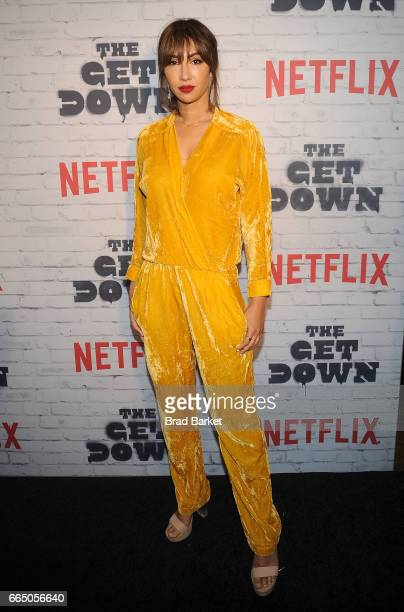 Jackie Cruz attends The Get Down Part 2 New York Kickoff Party at Irving Plaza on April 5 2017 in New York City