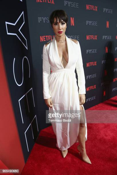 Jackie Cruz attends the Netflix FYSEE KickOff at Netflix FYSEE At Raleigh Studios on May 6 2018 in Los Angeles California