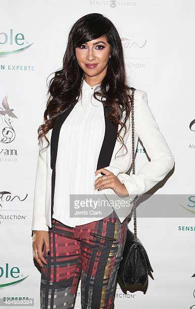 Jackie Cruz attends the Simple Skincare Caravan Stylist Studio Fashion Week Event on September 7 2014 in New York City