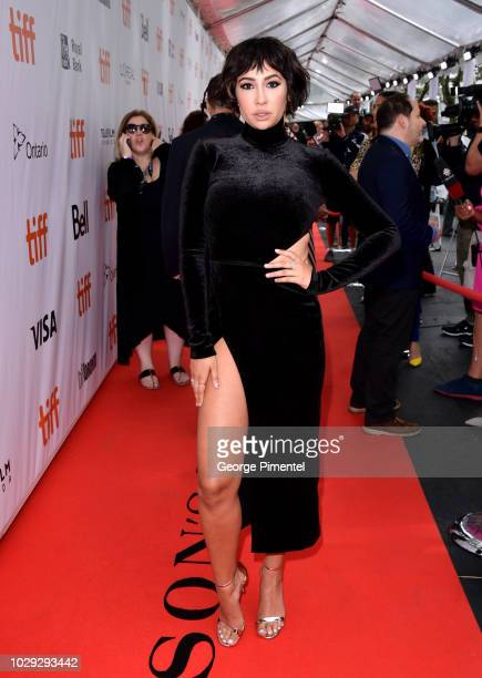 Jackie Cruz attends the This Changes Everything premiere during 2018 Toronto International Film Festival at Roy Thomson Hall on September 8 2018 in...