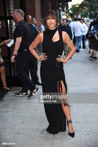 Jackie Cruz is seen walking in soho on June 20 2017 in New York City