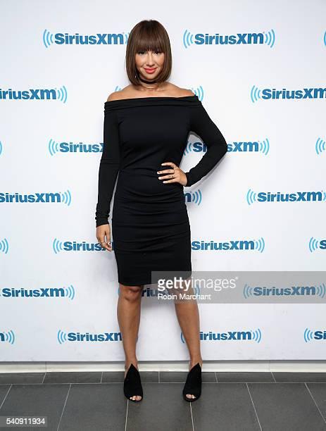 Jackie Cruz visits at SiriusXM Studio on June 17 2016 in New York City