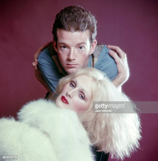 Jackie Curtis starring as Blue Denim with Andy Warhol transvestite superstar Candy Darling in his hit play 'Vain Victory the Vicissitudes of the...