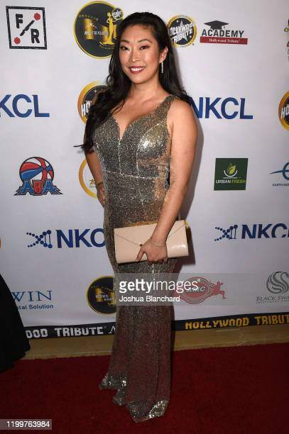 Jackie Dallas arrives at Don Cho and Scarlett Shin's Hollywood Tribute Awards Oscars Viewing Gala Benefiting Better Vision for Children Foundation...