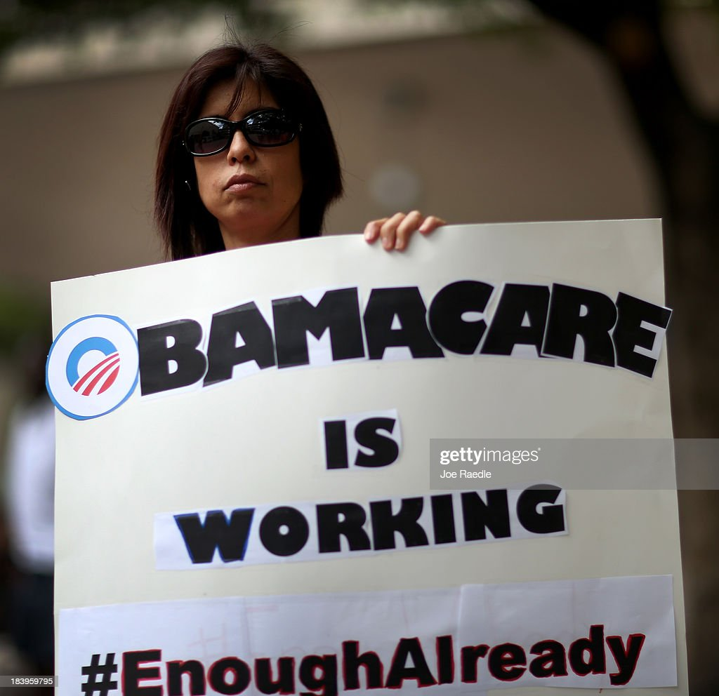 Supporters Of Affordable Care Act Rally In Miami : News Photo