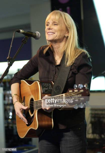 Jackie DeShannon during The Guillemots and Jackie De Shannon Perform at the Nominations of 2006 Mojo Honours at HMV in London Great Britain