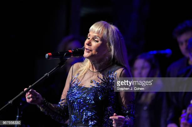 Jackie DeShannon performs during the 2018 Kentucky Music Hall Of Fame Induction Ceremony at Renfro Valley Entertainment Center on May 11 2018 in Mt...