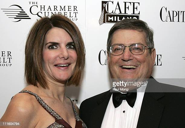 Jackie Duberstein and Ken Duberstein at Capitol File Magazine's White House Correspondents Dinner afterparty at Cafe Milano