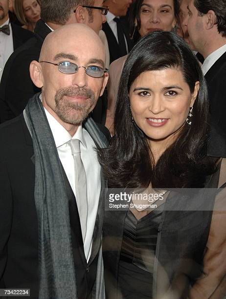 Jackie Earle Haley ans wife Amelia Cruz attend the 79th Annual Academy Awards held at the Kodak Theatre on February 25 2007 in Hollywood California