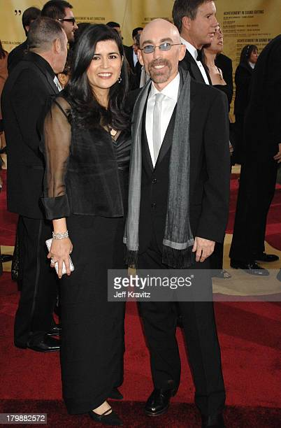 Jackie Earle Haley nominee Best Actor in a Supporting Role for Little Children and wife Amelia Cruz