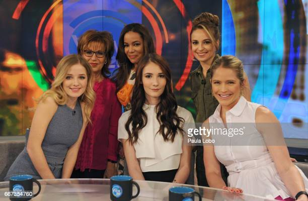 THE VIEW Jackie Evancho and Juliet Evancho are guests on Walt Disney Television via Getty Images The View airing Friday April 14 2017 The View airs...