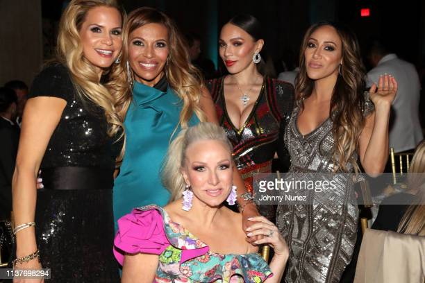 Jackie Goldschneider Dolores Catania Margaret Josephs Gia Casey and Melissa Gorga attend the 13th Annual HealthCorps Gala at Cipriani 25 Broadway on...