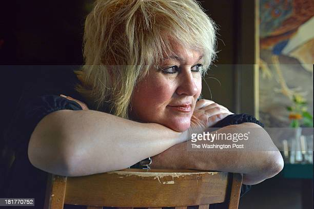 Jackie Greenbaum, the owner of Bar Charlie, sits for a portrait at her restaurant/bar on Thursday, September 19 in Washington, DC. The restaurant's...