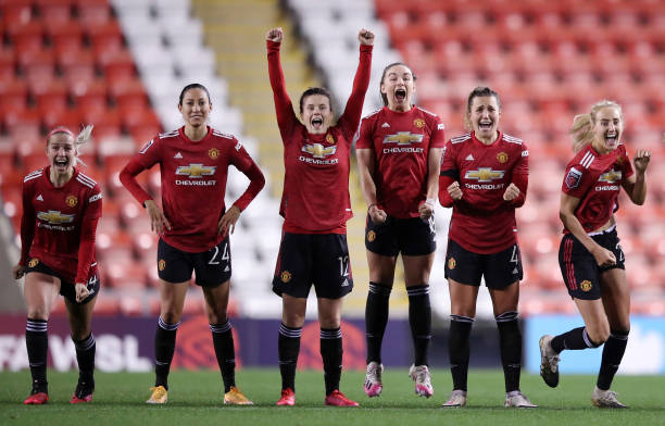 GBR: Manchester United v Manchester City - FA Women's Continental League Cup