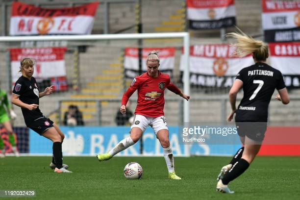 Jackie Groenen of Manchester United Women during the Barclays FA Women's Super League match between Manchester United and Bristol City at Leigh Sport...