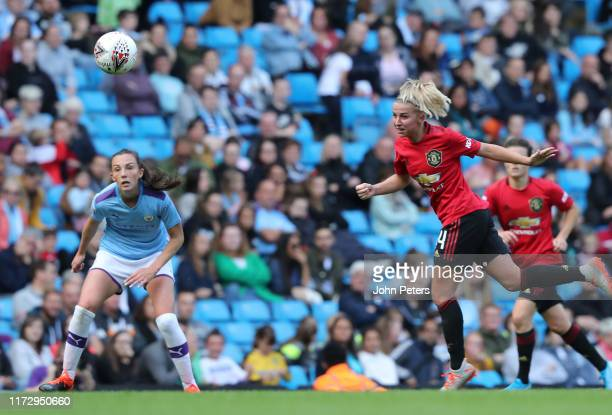 Jackie Groenen of Manchester United Women in action during the Barclays FA Women's Super League match between Manchester City and Manchester United...