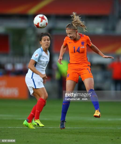 Jackie Groenen of Netherlands Women during the UEFA Women's Euro 2017 semi final match between Netherlands and England at De Grolsch Veste Stadium on...