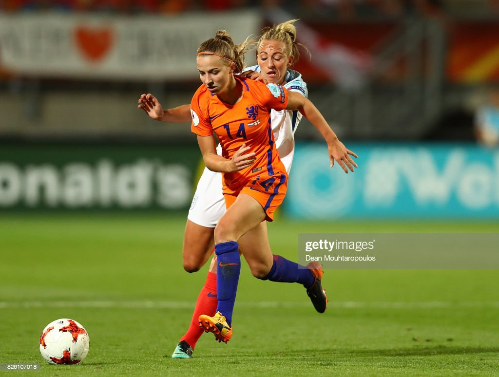 Netherlands v England - UEFA Women's Euro 2017: Semi Final : News Photo