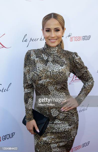 Jackie Guerrido arrives at GBK Pre Oscar Gift Lounge at Kimpton La Peer Hotel on February 08 2020 in West Hollywood California