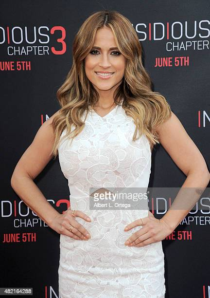Jackie Guerrido arrives for the Premiere Of Focus Features' 'Insidious Chapter 3' held at TCL Chinese Theatre on June 4 2015 in Hollywood California