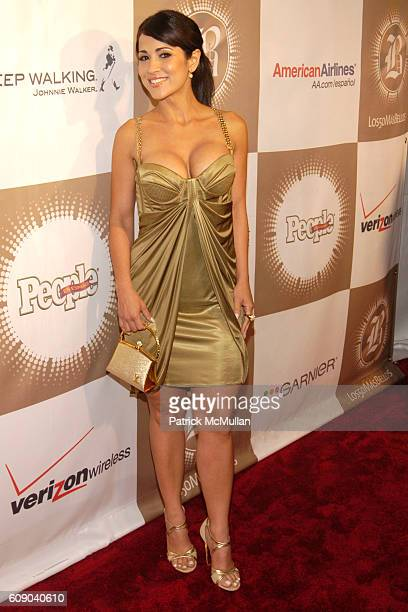 Jackie Guerrido attends PEOPLE EN ESPANOL'S '50 Most Beautiful' StarStudded Event at Splashlight Studios on May 16 2007 in New York City
