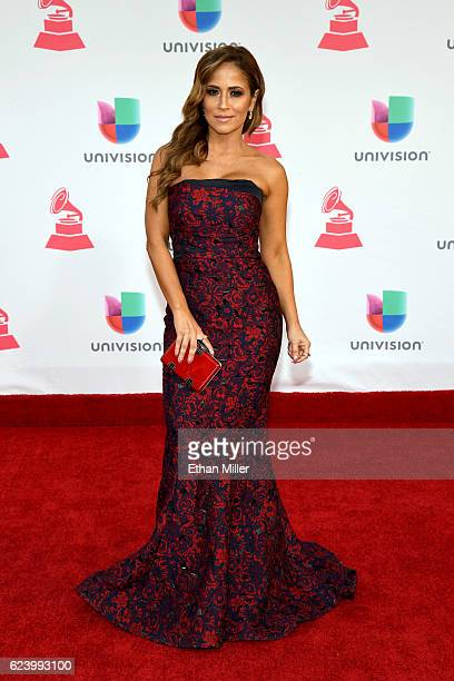 Jackie Guerrido attends The 17th Annual Latin Grammy Awards at TMobile Arena on November 17 2016 in Las Vegas Nevada