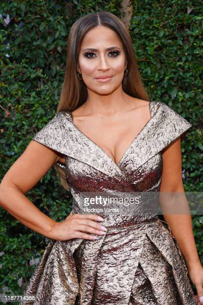 Jackie Guerrido attends the 20th annual Latin GRAMMY Awards at MGM Grand Garden Arena on November 14, 2019 in Las Vegas, Nevada.