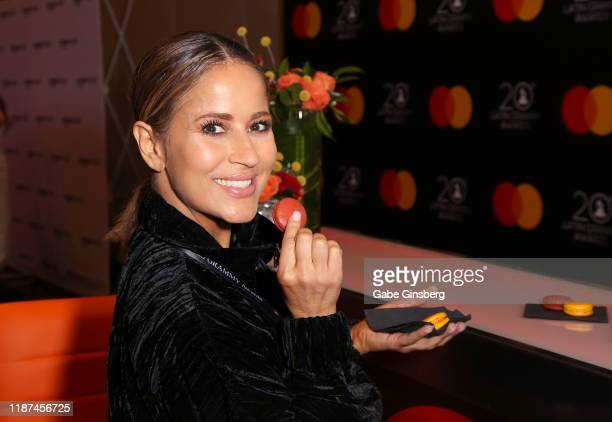 Jackie Guerrido attends the gift lounge during the 20th annual Latin GRAMMY Awards at MGM Grand Hotel Casino on November 13 2019 in Las Vegas Nevada